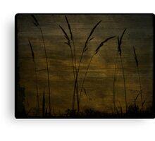 Dusk Silhoutte Canvas Print