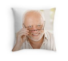 Harold, Hide The Love Throw Pillow
