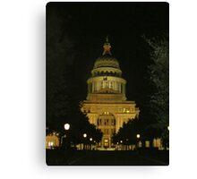 Texas Capital Canvas Print