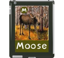 M is for Moose iPad Case/Skin