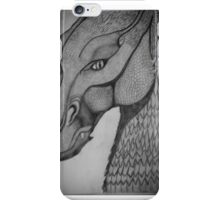 Eragon: Saphira pencil drawing iPhone Case/Skin