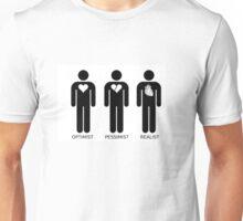OPTIMIST PESSIMIST REALIST Unisex T-Shirt