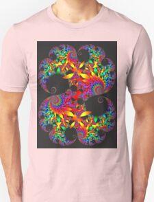 Classic Mandelbrot with Petals T-Shirt