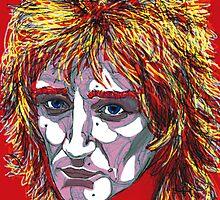 Tartan of Rod Stewart by Suzanne  Gee