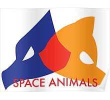 Space Animals Poster