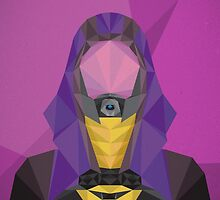 Tali'Zorah Vas Normandy by sparkmark