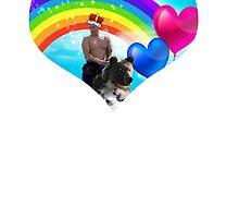 Putin + Bear by rickrick