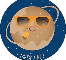 Mercury The Sun Worshipper by Lydia Fay