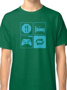 Eat, Sleep, Game, Repeat. Classic T-Shirt