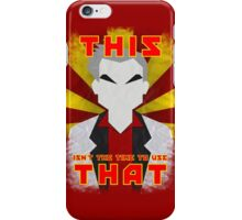 """Pokemon - Professor Oak: """"This isn't the time to use that!"""" iPhone Case/Skin"""