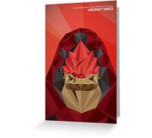Urdnot Wrex Greeting Card
