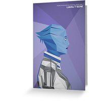 Liara T'Soni Greeting Card