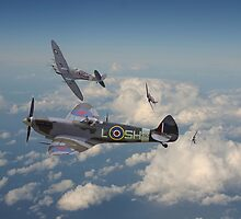Spitfire - 'Tally Ho' by Pat Speirs