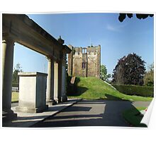 Guildford Castle Tower Poster