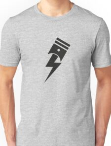 Bolt Piston Unisex T-Shirt