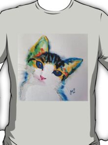Watercolour Kitten T-Shirt