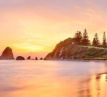 Glasshouse Rocks, Narooma, New South Wales, Australia by Michael Boniwell