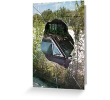 View Through Route 66 Window Greeting Card