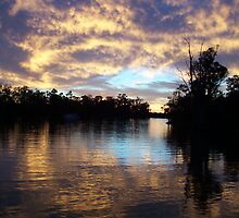Sunset on The Murray by Carly Slater