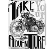 TAKE YOUR DEUS AND LET'S ADVENTURE iPad Case/Skin