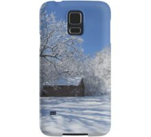 Winters  Shed Samsung Galaxy Case/Skin