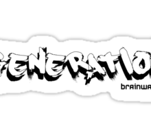 Generation brainwashed Sticker