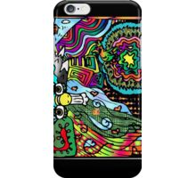 South American Scribbles iPhone Case/Skin