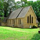 ST JAMES CHURCH OF ENGLAND PITT TOWN NSW by Bev Woodman