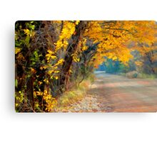 Fall-Tastic Canvas Print
