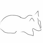 Sketched Cat 10 by Gabriele Maurus
