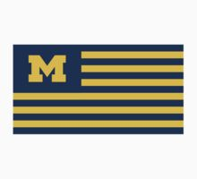 Michigan Flag by hergie10