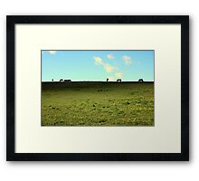 Ridge Nr. Colleton House, Twyford Framed Print