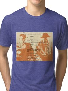 into the mountain Tri-blend T-Shirt