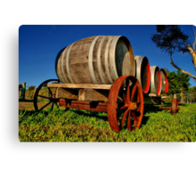 """On The Wagon"" Canvas Print"