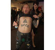 Beer Punk Photographic Print