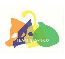 Team Star Fox Art Print