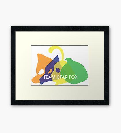 Team Star Fox Framed Print