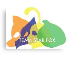 Team Star Fox Metal Print