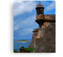 Fortress of the Caribbean - 01 Canvas Print