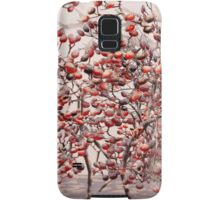 Snow on the Berries Samsung Galaxy Case/Skin