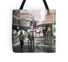 rain in Sydney Tote Bag