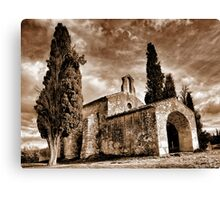 Provence chapel... Canvas Print