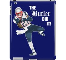 New England Patriots - Malcolm Butler 'The Butler Did It!' iPad Case/Skin