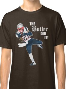 New England Patriots - Malcolm Butler 'The Butler Did It!' Classic T-Shirt