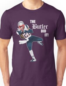 New England Patriots - Malcolm Butler 'The Butler Did It!' Unisex T-Shirt