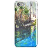 Mataranka Springs, N.T. iPhone Case/Skin
