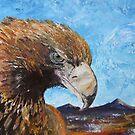 Eagle with Attitude by Sue Hodge
