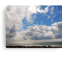 Caenarfon Coastline Canvas Print