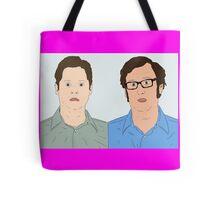 Tim and Eric Tote Bag