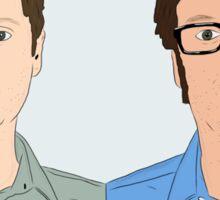 Tim and Eric Sticker